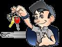 The Key Guy Locksmith - Transparent Partial Logo