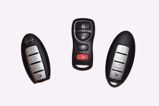 Key fobs for automotive locksmith service